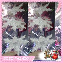 Snow flake hanging christmas tree ornament for christmas tree