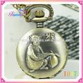 I047 beihai de moda relojes antiguos de bolsillo, directa de la fábrica baratos reloj de bolsillo, el zodiaco chino logotipo personalizado reloj de bolsillo.