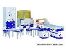 professional manufacturer good quality wooden kids bedroom set
