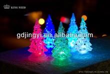 new product fashion artificial LED mini christmas tree lighting decorations