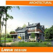 Luxury Steel Structure Villa Design
