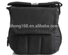 Black Waterproof Nylon DSLR Camera Bag For Canon