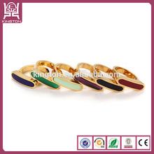 2014 fashion made 24 carat gold wedding rings