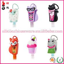 29ml hand sanitizers silicone holder/fashion hand sanitizer bottle case