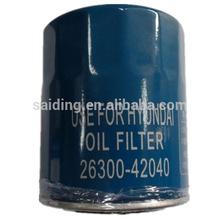 Oil Filter Hyundai 26300-42040 Toyota Auto Parts