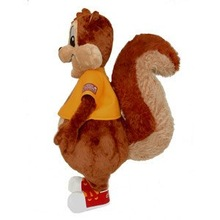 cute squirrel mascot costume for kids and adults