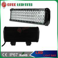 """Quad Row LED Light Bar, 17"""" 216W 3W CREE LED for ATV SUV"""