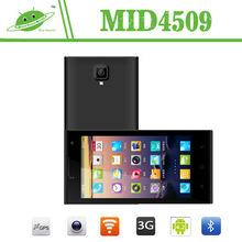 China Mobile Phone MTK6582M 3G Dual SIM Card Smart Phone