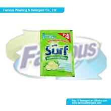 Famous Fast Clean Sachet Package Dishwashing Liquid 22ML