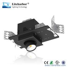 Recessed Multiple adjustable cob led lights pot