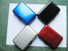 charming waterproof aluminum case wallet