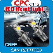 used car 40w Cree Led H4 Led Lighting/50w Car H4 Cree Led