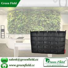 attaccatura di parete verde verde tasca giardino muro fioriera