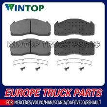 Truck Brake Pad Kit 0044202220 29087 WVA29061 for Mercedes Benz