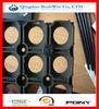 Hot ISO9001 14001 RoHS Certificate Custom Printed Natural anti-slip rubber grass mats