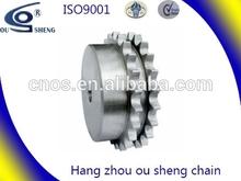 A series 20A-2 duplex roller chain chain and sprockets