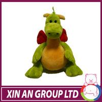 ASTM /EN71 Hot selling super green inflatable dragon