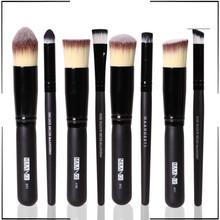 private label 8pcs/10pcs synthetic kabuki makeup brush