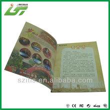 China wholesale custom advertising brochure samples printing