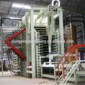 medium density fiberboard linha de produção