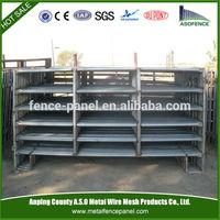 Metal 2.1*1.8m 6 bars galvanized livestock sheep panel
