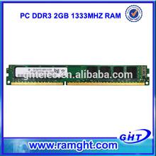 Brand export surplus ddr3 2gb ram 1333mhz