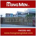 17 anos história China deslizamento portões de ferro modelos feito em Shenzhen