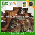 Caliente de diseño de la pantalla de impresión de las hojas de cama/barato ropa de cama/ropa de cama para hogares de ancianos
