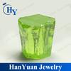 Synthetic Apple Green Uncut Raw Gemstone