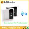 Wireless Bluetooth Portable Full-Size Virtual Laser Projection Keyboard Input