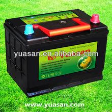 Direct Factory Korean Design DIN Series12V 70AH MF Auto Battery for Car Starting --57029MF