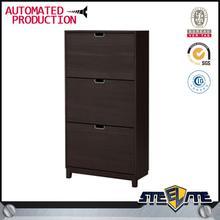 Modern Designs Metal Frame 3 Tier Shoe Shoe Storage Cabinet