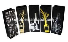 2014 popular wine shopping bag,fashional wine bag