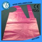 wholesale bright pink plastic PE/PP/LDPE disposable apron pe aprons