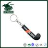 hockey ball bottle opener key chain