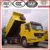 sinotruk howo dump truck 6x4 left hand drive with aire conditioner