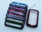 2 Colors Soft TPU Gel Skin Bumper Frame Case Cover for Blackberry 9900 Multi-color for Choice