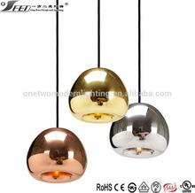 Tom Dixon Void Light Mini Copper glass ball led chandelier lamp