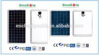800 Watt Solar Panel/4*200 Watt PV modules with High Quality Manufactured by Sinosola