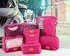 7 PCS Travel Set Luggage Organizer Bag Clothes Storage Pouch