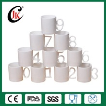 Cheap factory directly number mug