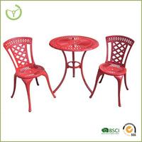 3pc hd designs outdoor furniture, cast aluminum outdoor furniture China/outdoor furniture turkey