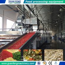 industrial conveyer drying equipment / chili drying machine / leaves drying machine