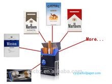 cigarette packing silver aluminum foil paper