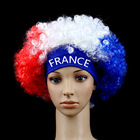 Hot sale high quality afro Wave flag wigs with headband for party