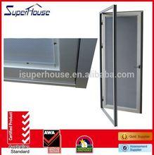 rustproof stainless steel door hinge thermal break double glass comply with AS2047