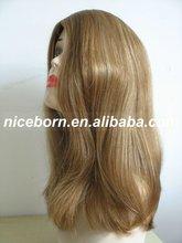NICBBORN Design jewish wig European virgin human hair for sheitel wig