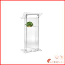 acrylic podium pulpit lectern-modern pulpit designs