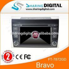FT-7872GD Sharingdigital Car Radio with GPS navigation For Fiat Bravo Car dvd with GPS