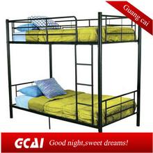 New design cheap steel double decker bed